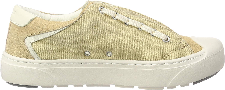 | heybrid Women's Sneaker Mit Stickerei Low Top