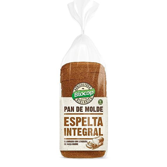 Pan de molde Espelta Integral Biocop, 400 g