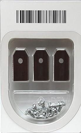 INOX 18 ACCIAIO INOX-COLTELLO 0,6mm per tutti Automower di HUSQVARNA TIPO da1