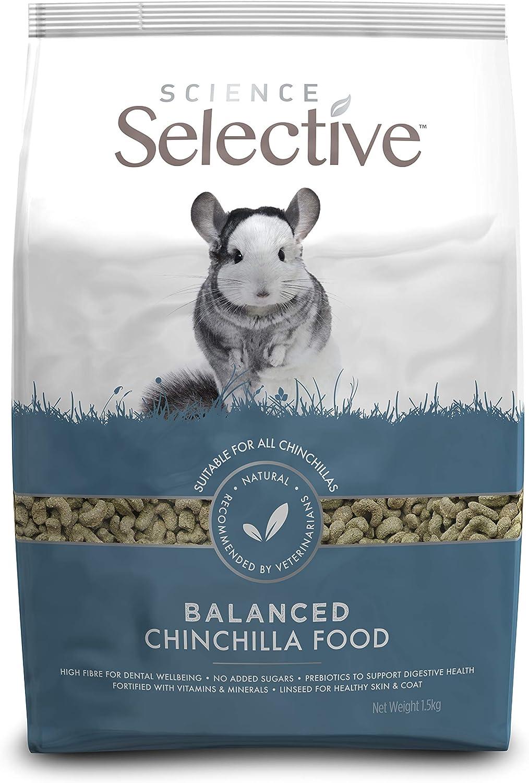 Supreme Science Selective Chinchilla - Comida para Chinchilla (1,5 kg)