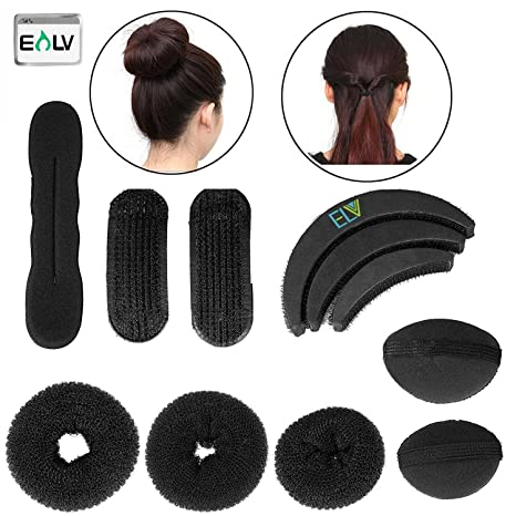 buy e lv 7 pieces hair styling accessories kit in 1 pack black