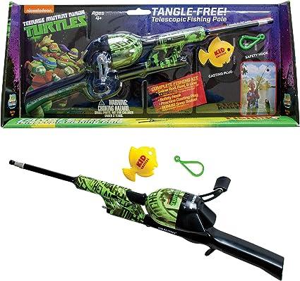 Nickelodeon Teenage Mutant Ninja Turtles Tangle Free Telescoping Fishing Pole