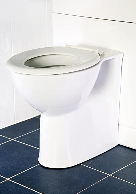 World of Baths Comfort Height Back To Wall Toilet Pan Disabled Use ...