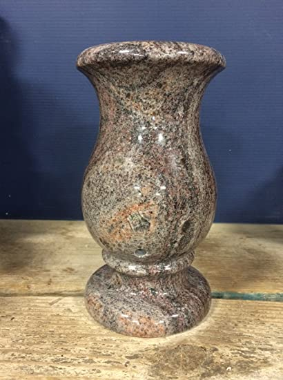 Amazon Paradisio Granite Monument Vase Cemetery Headstone