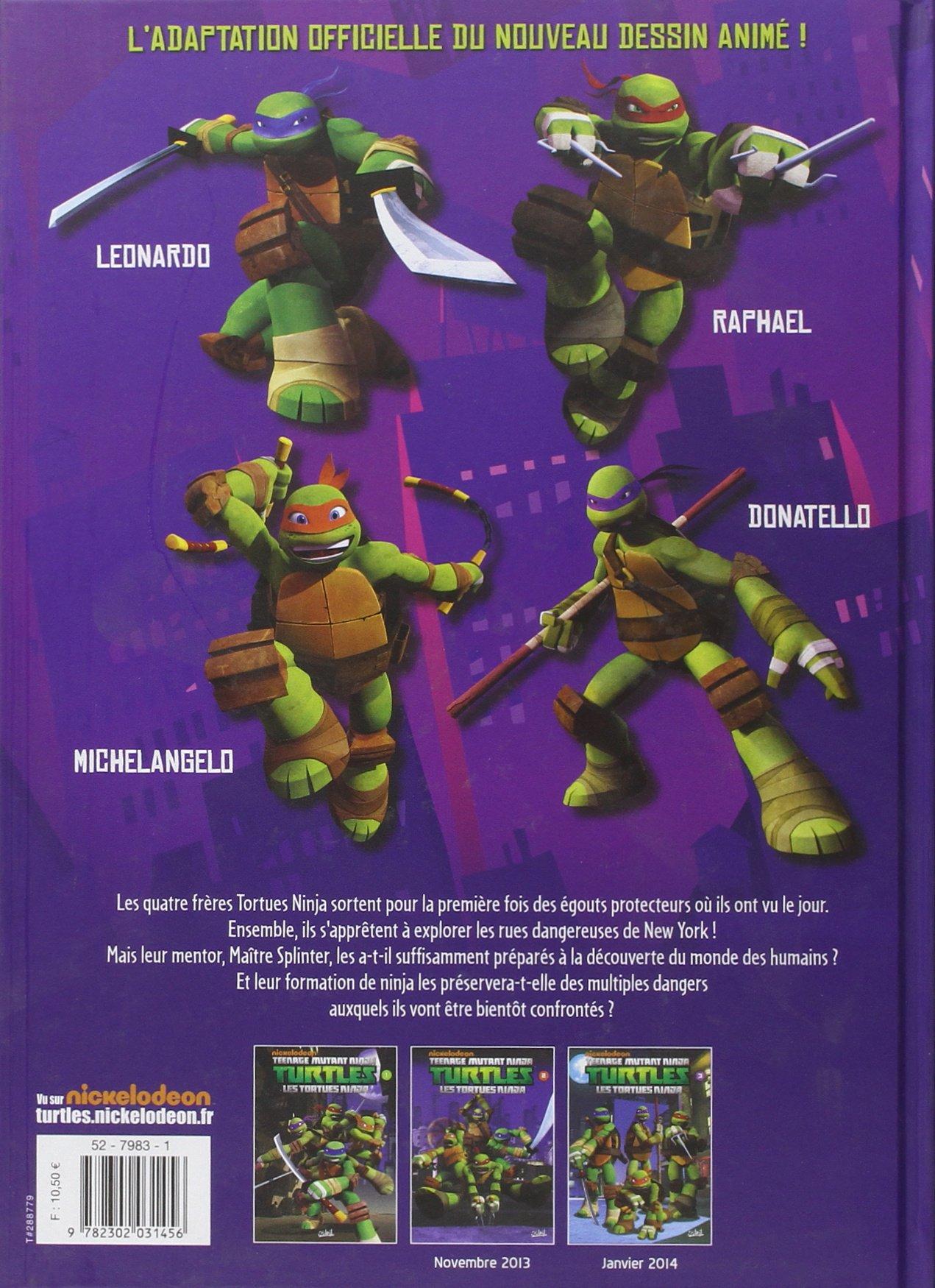 Amazon.com: Nickelodeon Teenage Mutant Ninja Turtles, Tome 1 ...