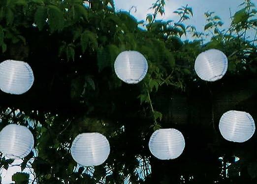 Fiesta de alta calidad – Guirnalda solar, longitud total 470 cm, ideal para la iluminación de plantas,
