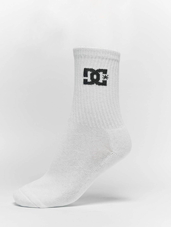 DC Crew Socks 3 Pack Black