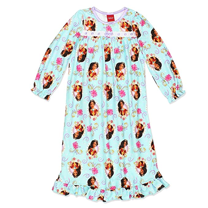 Elena of Avalor Girls Flannel Granny Gown Nightgown (Toddler/Little ...