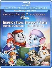 Bernardo Y Bianca 35 Aniversario Y Bernardo Y Bianca En Cangurolandia Combo Pack [Blu-ray]