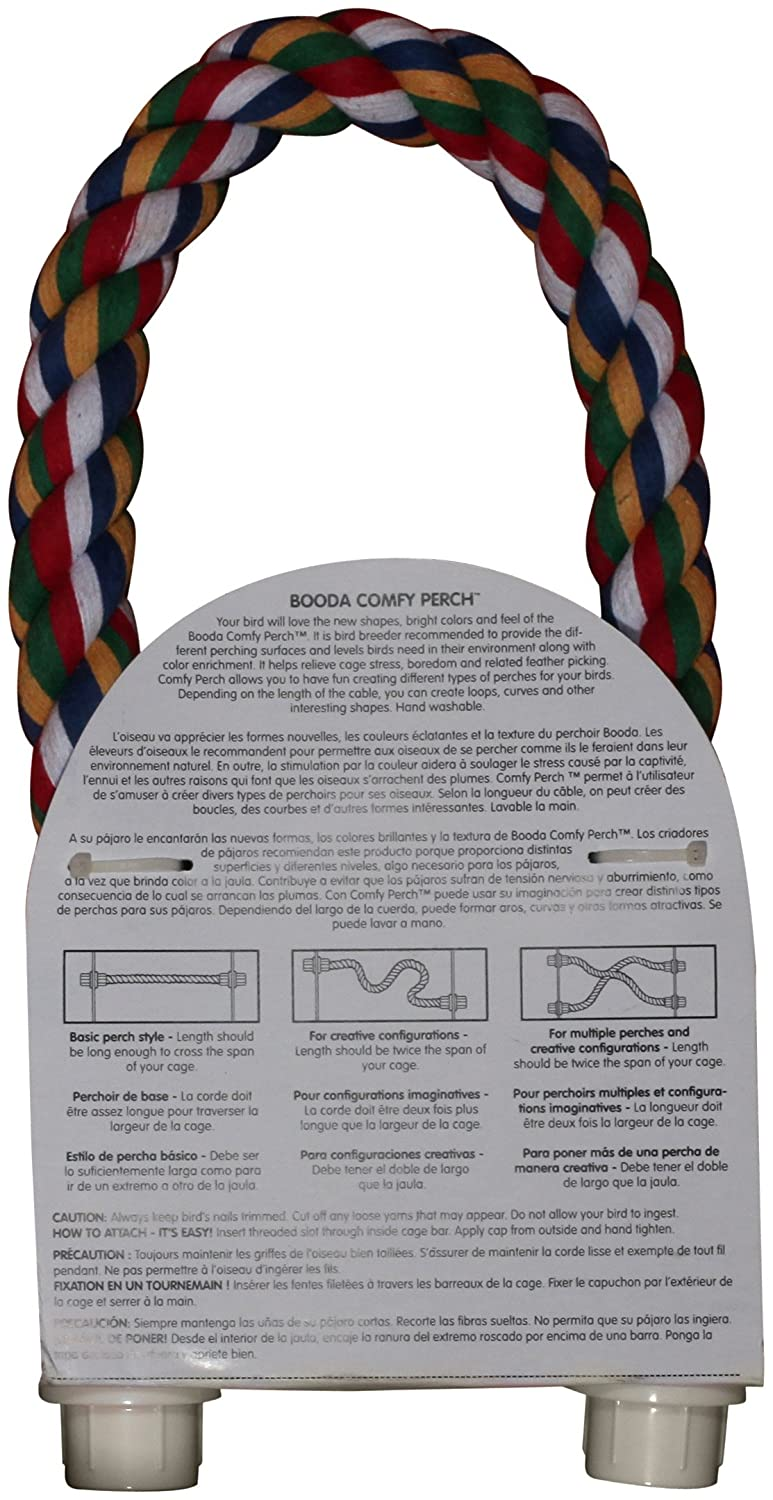 Amazon : Boodafy Perch For Birds, Large 36inch, Colors Vary : Bird Toy :  Find Circumference Of A Circle Using Radius