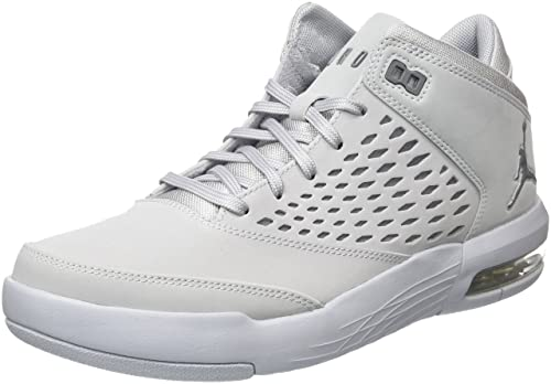 size 40 b4e48 9eac8 Nike Flight Origin 4, Zapatos de Baloncesto para Hombre, Gris (Wolf Cool  Grey 005), 42.5 EU Amazon.es Zapatos y complementos