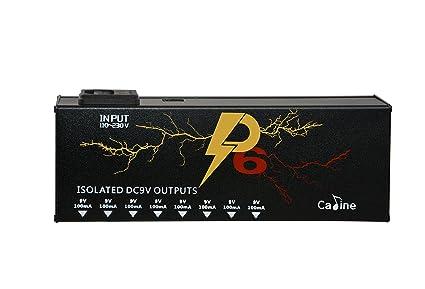 Amazon com: Caline Isolated Power Supply 8 Output DC 9V
