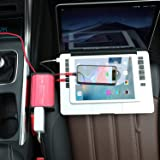 300W Car Power Inverter DC 12V to 110V AC Converter 4.8A Dual USB Ports Car Charger Adapter