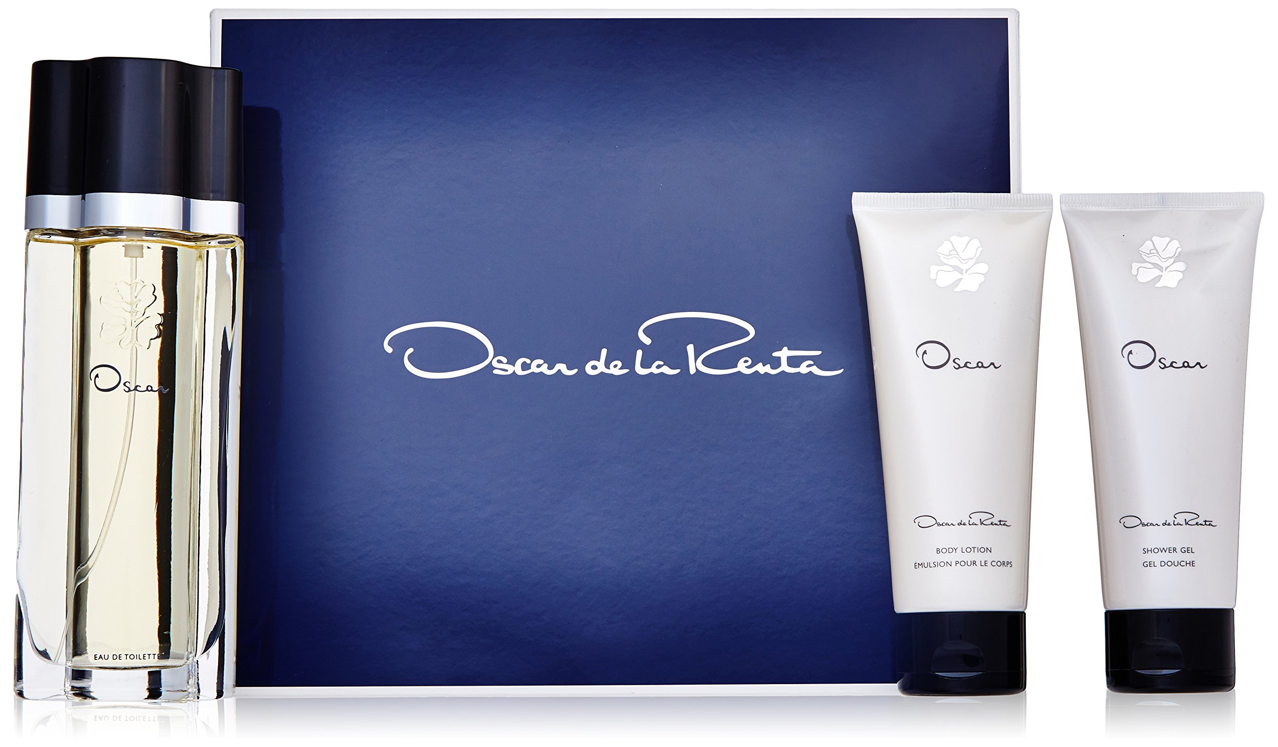 Oscar De La Renta 3 Piece Gift Set Cologne Spray for Women