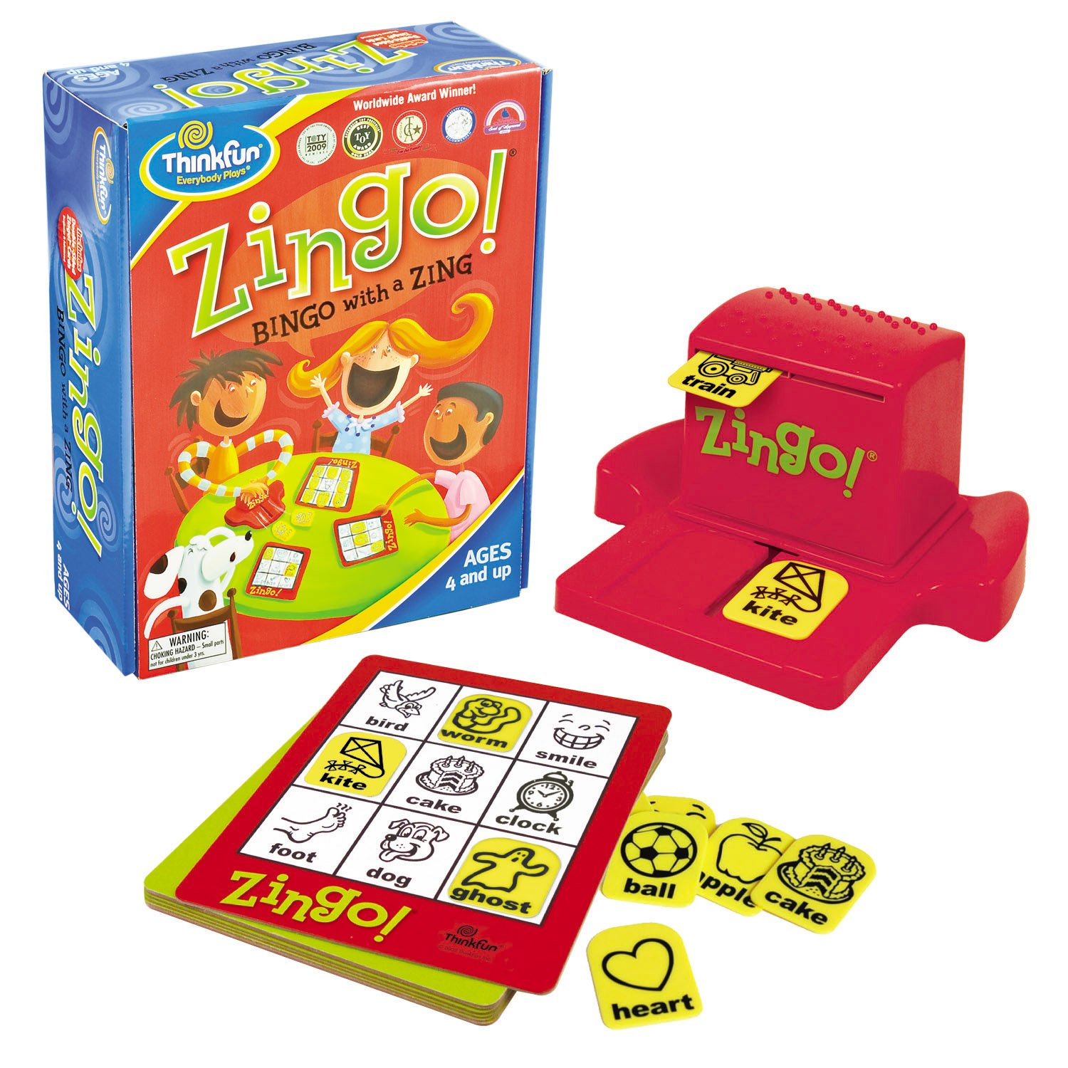 Co coloring games for 4 year olds online - Amazon Com Thinkfun Zingo Discontinued By Manufacturer Game Amazon Launchpad