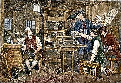 Outstanding Amazon Com Benjamin Franklin 1706 1790 Namerican Printer Inzonedesignstudio Interior Chair Design Inzonedesignstudiocom