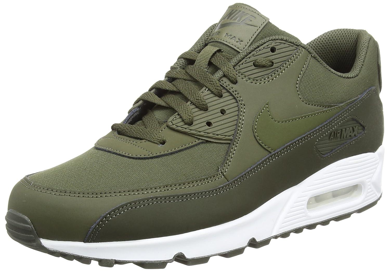 pretty nice 5aada b7147 Nike Mens Air Max 90 Essential Sequoia Cargo Khaki Leather Trainers 46 EU  Amazon.ca Shoes  Handbags
