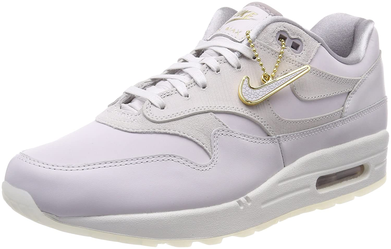 Nike Wmns Air MAX 1 Premium, Zapatillas de Gimnasia para Mujer 37.5 EU|Gris (Vapste Greyvast Greyatmosphere Grey 017)