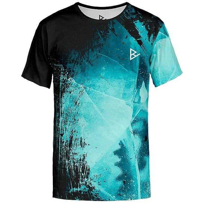 blowhammer  Blowhammer T-Shirt Uomo - Dark Ice TS: : Abbigliamento