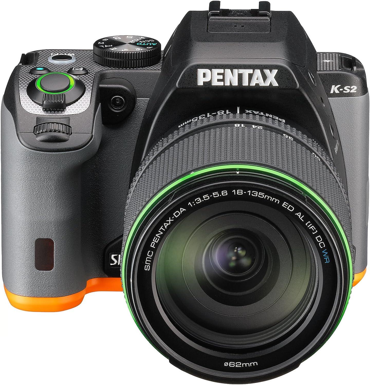 Pentax K-S2+18-135WR - Cámara fotográfica Digital, Color Negro y ...
