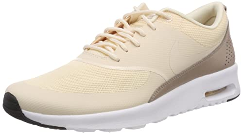 Nike Wmns Air MAX Thea, Zapatillas para Mujer, Amarillo Guava Ice-Diffused Taupe-Black 804, 36 EU: Amazon.es: Zapatos y complementos