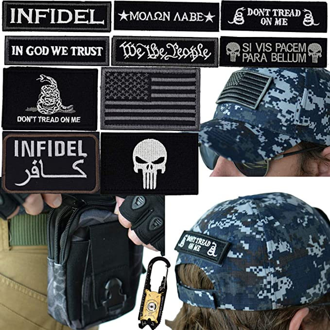 Amazon.com  Military Tactical Hat Bundle  20-in-1 Tool a7e451986e8