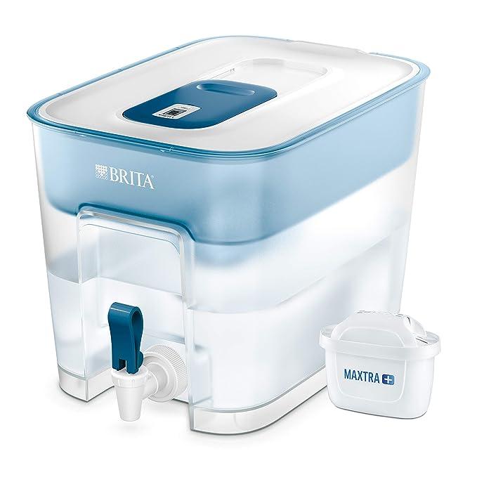 BRITA Flow – Dispensador de agua filtrada extra grande – Incluye un cartucho MAXTRA+ que reduce la cal y el cloro