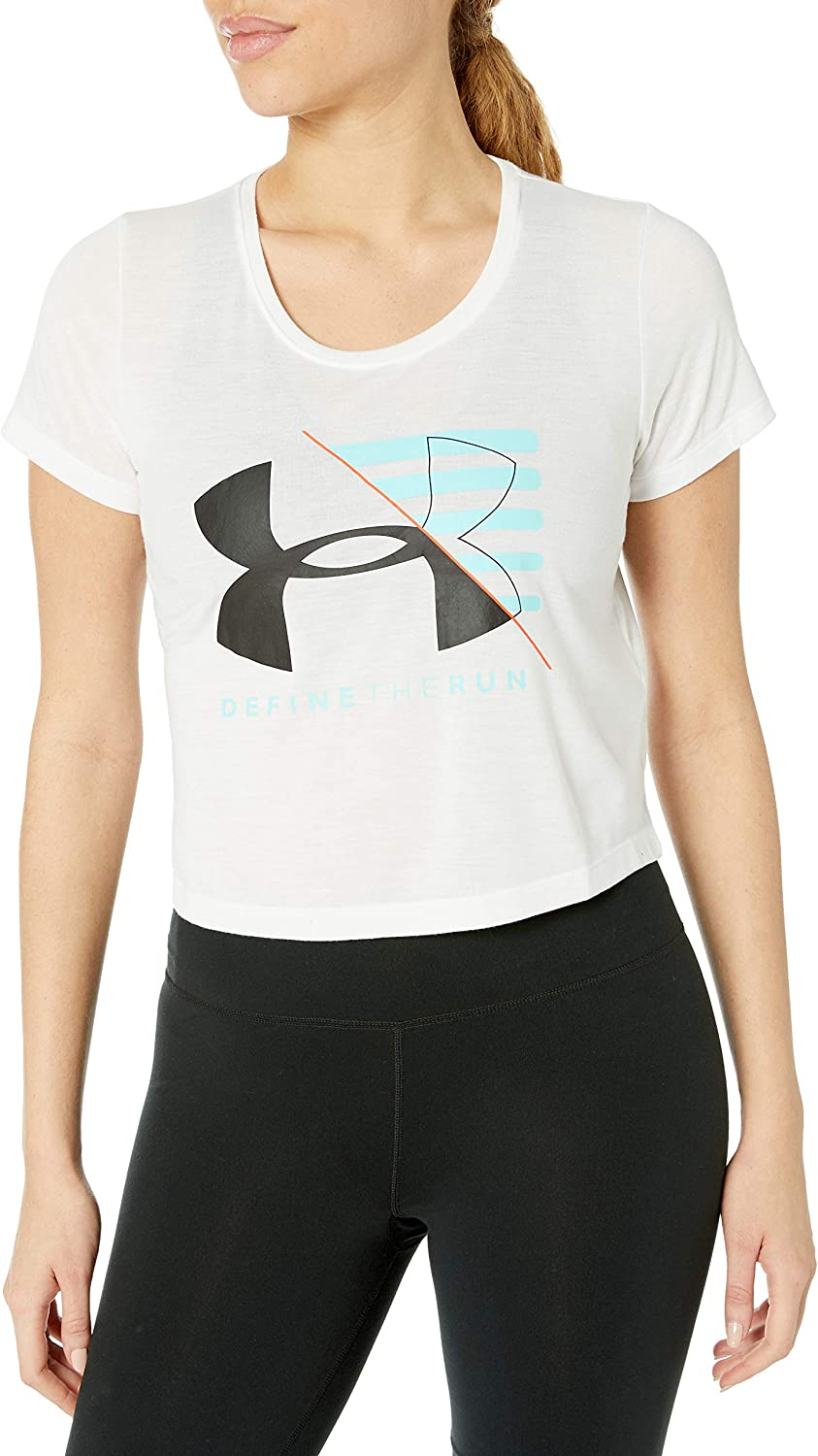 Under Armour Womens Run Vanguard Boxy T-Shirt