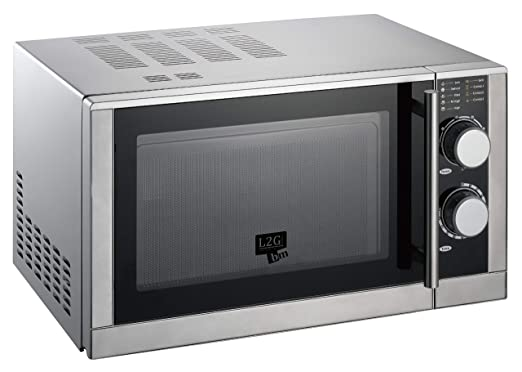 Horno microondas 25 litros 3 funciones: grill, M-O, descongelación ...