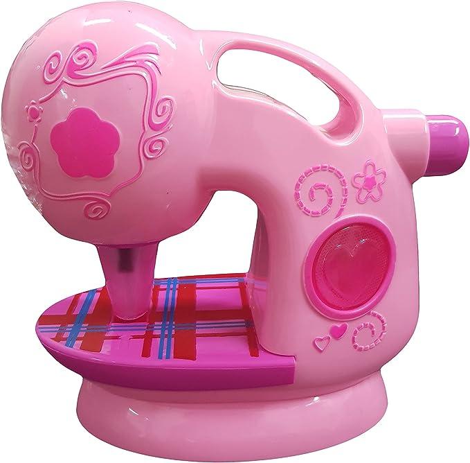 Takestop® - Máquina de coser con luces y sonidos, mini sastrería, moda, ropa de juegos para niña de 3 años: Amazon.es: Electrónica