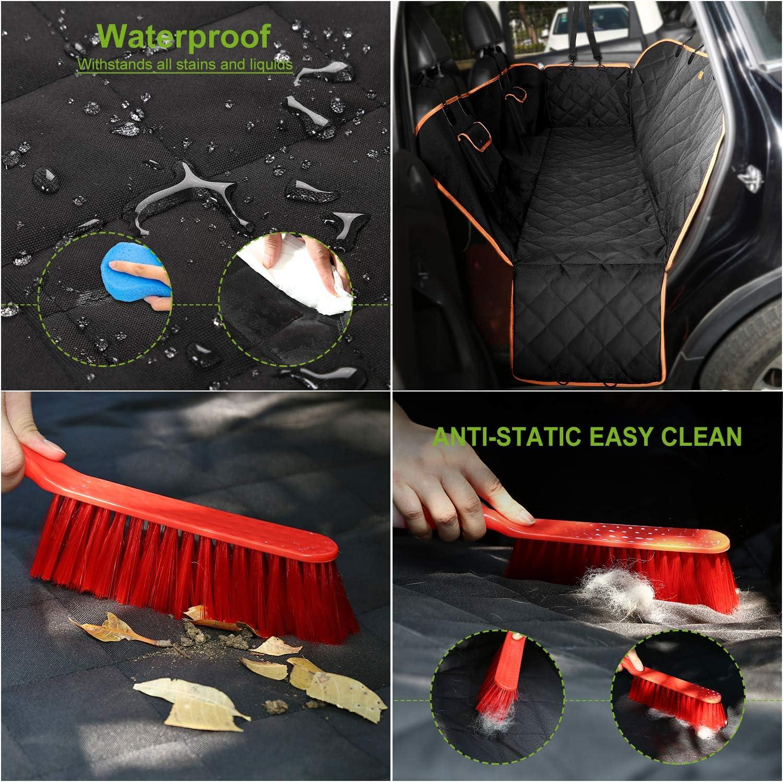 Alfombra funda asiento coche perro,alfombra de Coche para Mascotas es impermeable y anti-sucio adecuado para viajar con sus mascotas. se puede mantener su mascota segura y su coche limpia por dentro