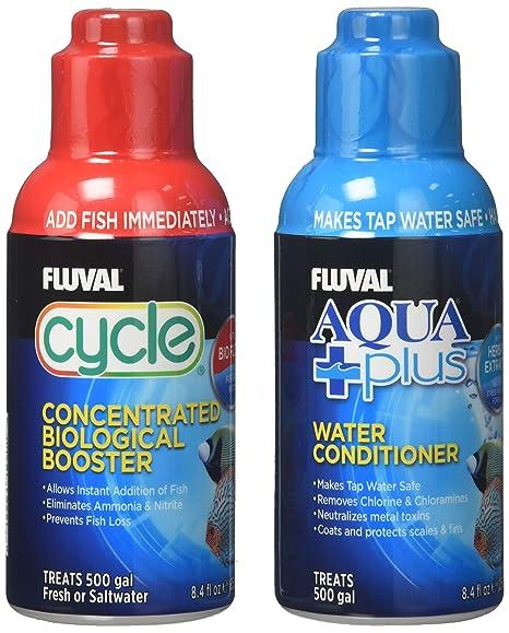 Lote de potenciador biológico Fluval Cycle (250 ml) y ...