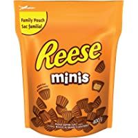 REESE Chocolate Candy Peanut Butter Cups, Minis, 400 Gram