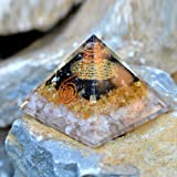 Orgonite Crystal Orgone Pyramid for Triple Health