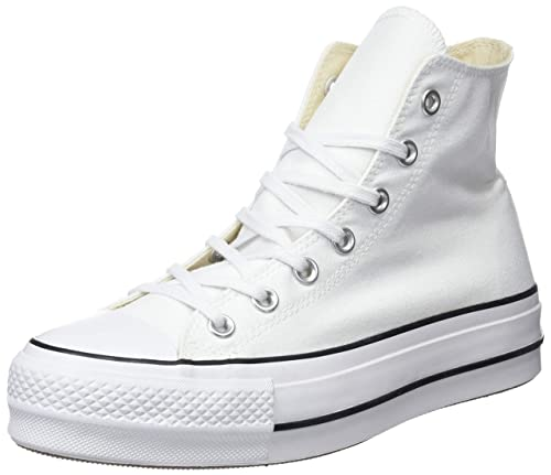 Converse Damen CTAS Lift Hi Black/White Sneakers