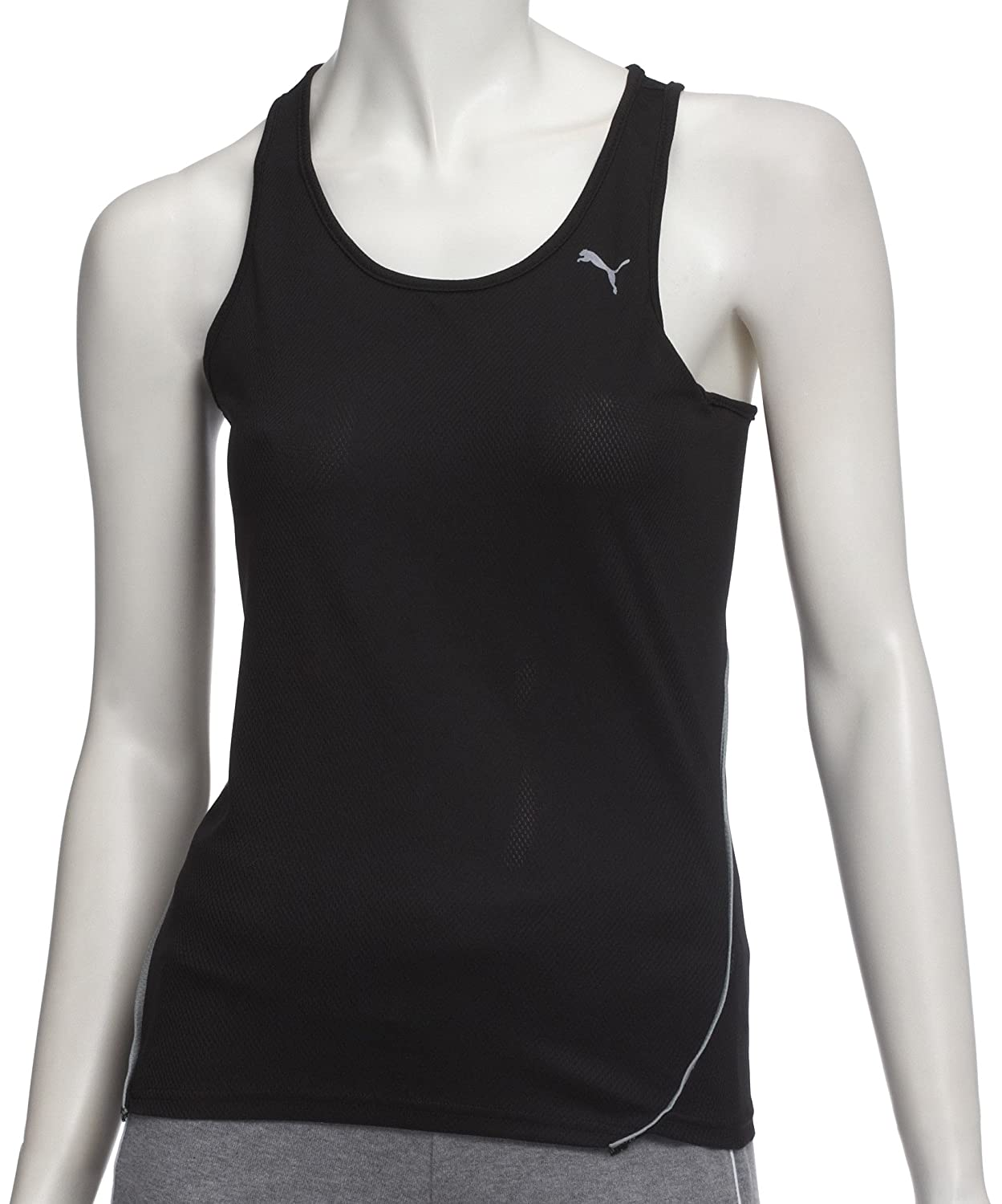 PUMA Damen Top Singlet, Black, S, 504147 01:
