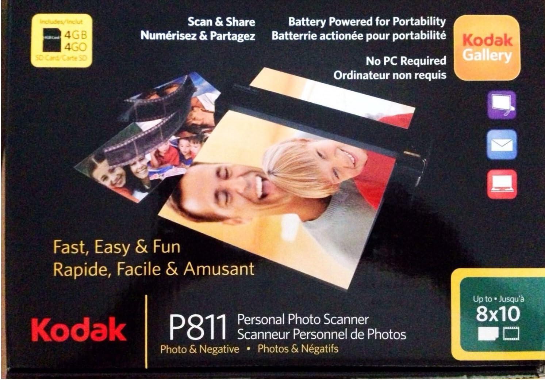 Kodak P811BK 8x10 Personal Photo and Negative Scanner