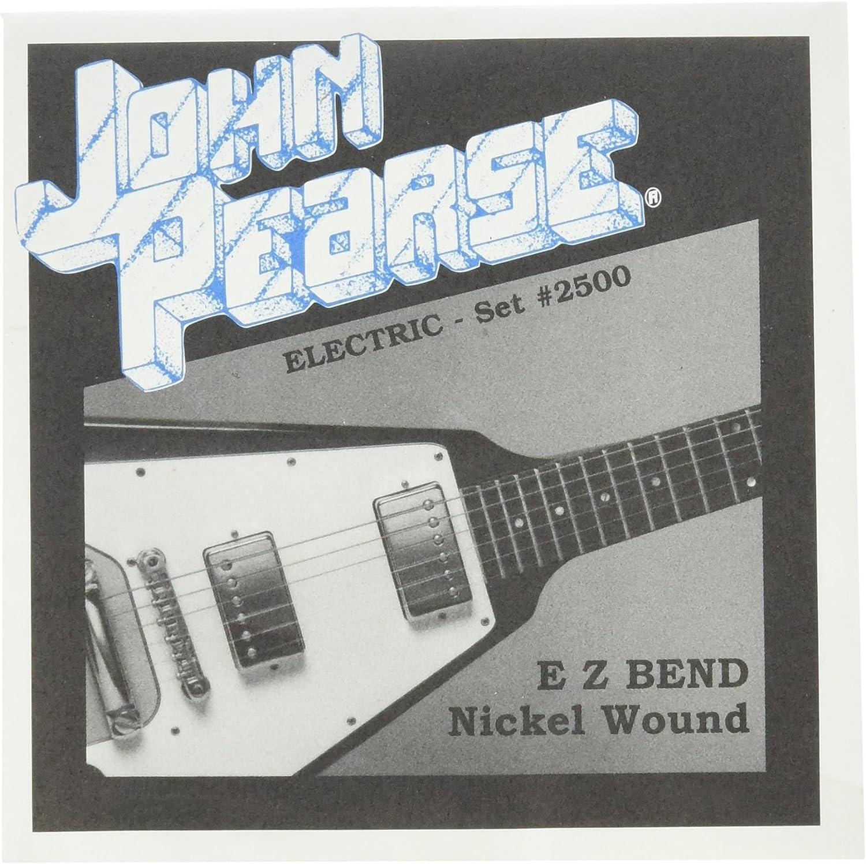 John Pearse cuerdas 2500 EZ banda cuerdas para guitarra eléctrica ...