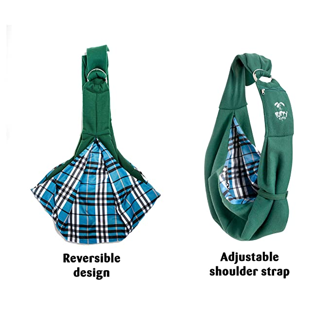 Amazon.com   Puppy Eyes Soft Pet Carrier Sling Comfortable and Adjustable  Dog Sling Ideal for Small   Medium Dogs up to 16 lb - Lightweight    Easy-Care Dog ... c2783371b1762