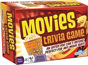 Cobble Hill Movies Trivia Game (1 Piece)