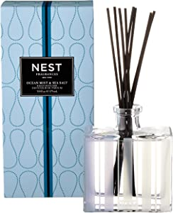 NEST Fragrances Reed Diffuser- Ocean Mist & Sea Salt , 5.9 fl oz