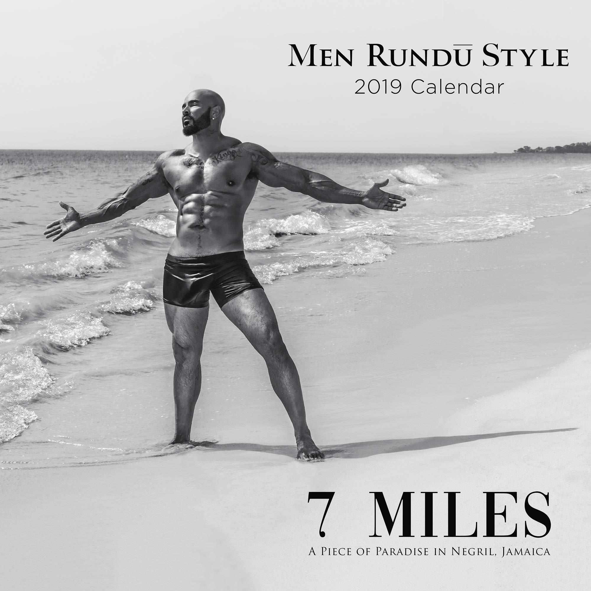 2019 black male calendar bonus dvd men rundu style an uncensored piece of paradise in negril jamaica calendar november 1 2018
