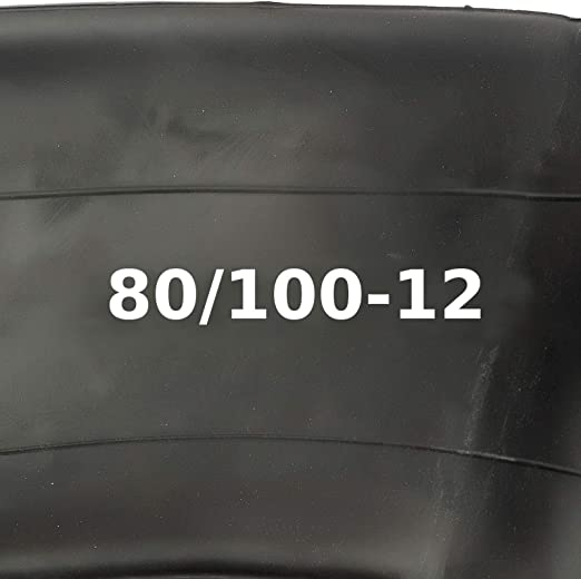 Pitbike Cámara 80/100-12 Curvado Schradar Válvula 12 Inch / 305mm Moto Cross Motocross
