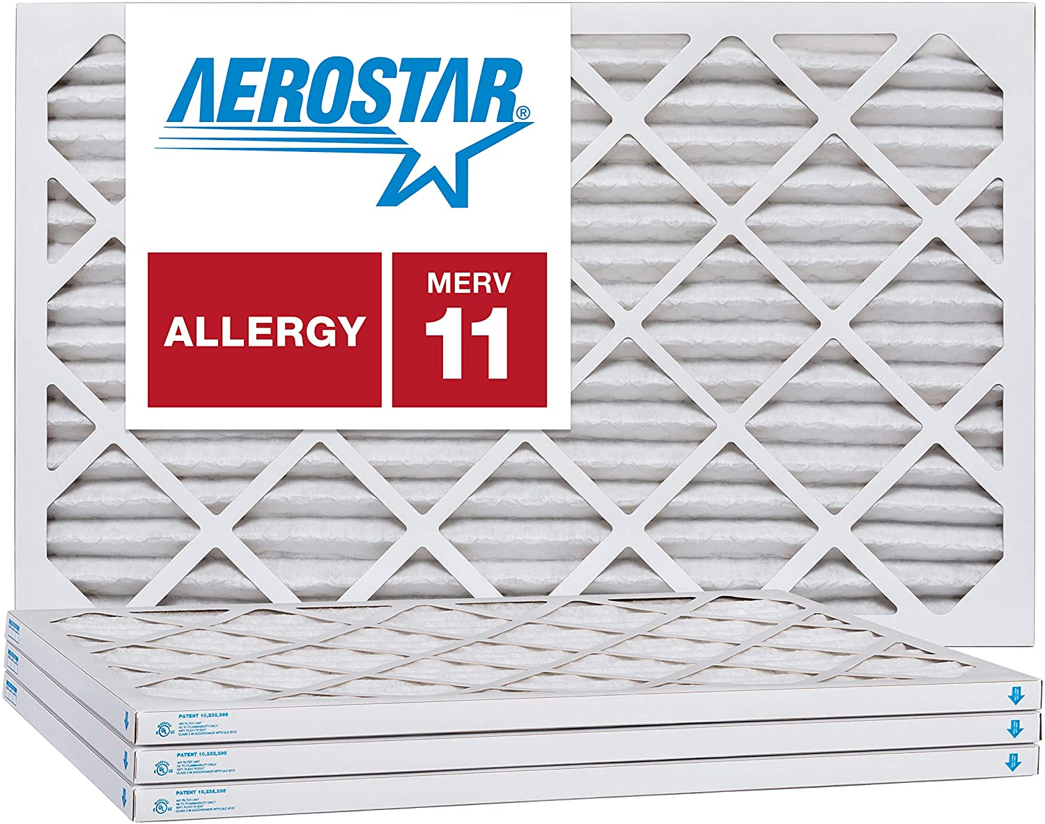Nordic Pure 19/_1//4x21/_1//4x1 MPR 1000 Pleated Micro Allergen Replacement AC Furnace Air Filters 3 Pack