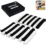 Bag Clips By MiTBA – 4in Snack and Chip Clips with Strong Grip that will Keep Your Food Fresh! These Easy to Use Bag Sealers will put an end to Wasting! Black & White, Set of 20 Units. Seal The Deal!