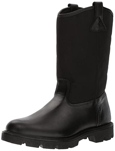 Amazon.com | Rocky Men's Men's 10 Inch Pull-On 6300 Work Boot ...