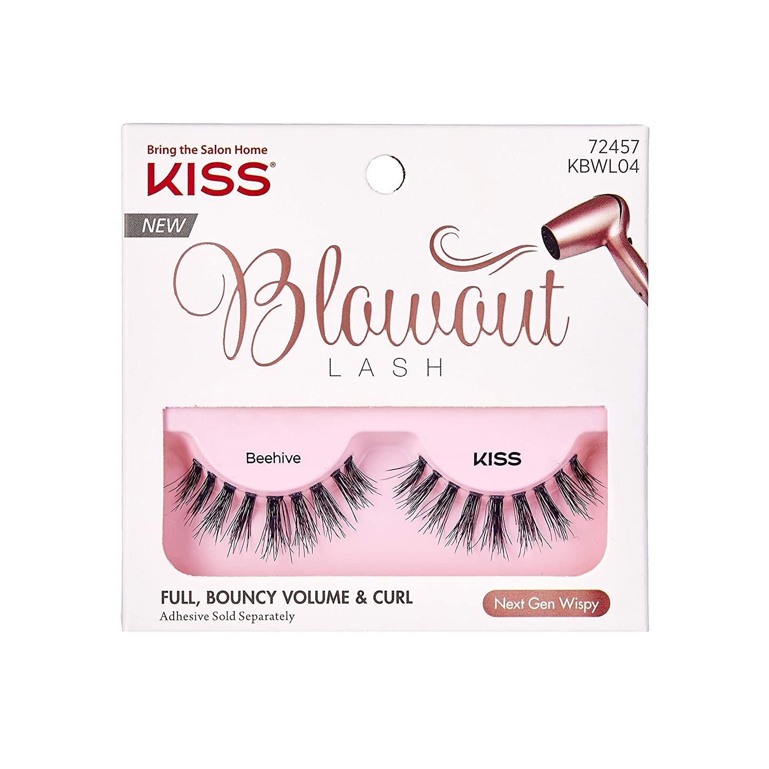 32faefd53af Kiss Lashes Kbwl04ca - Kiss Blowout Eyelashes - Beehive, 0.03 Pounds:  Amazon.ca: Beauty