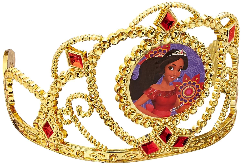 Elena Avalor Tiara de oro con gemas de imitación (1 pieza)