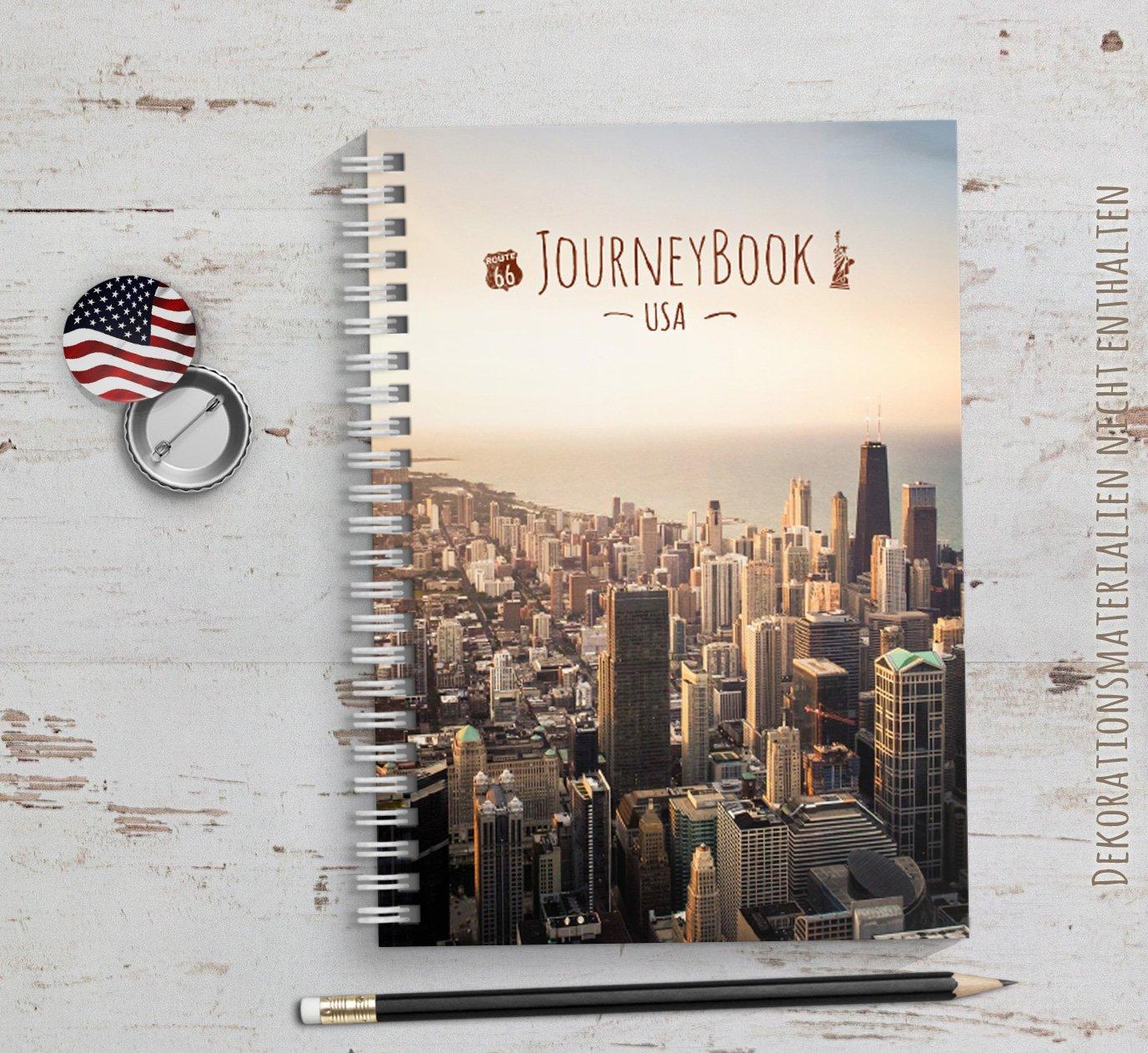 Reisetagebuch USA/Amerika zum selberschreiben oder als ...
