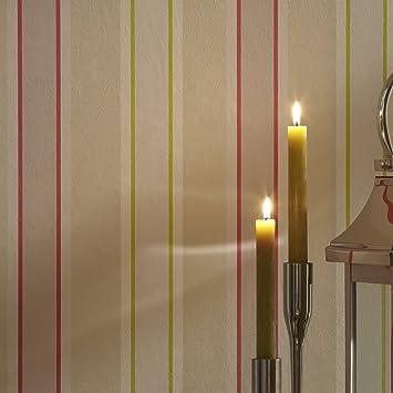 Adara Tapete Mit Modernem Streifendesign Naturtone Mehrfarbig 10